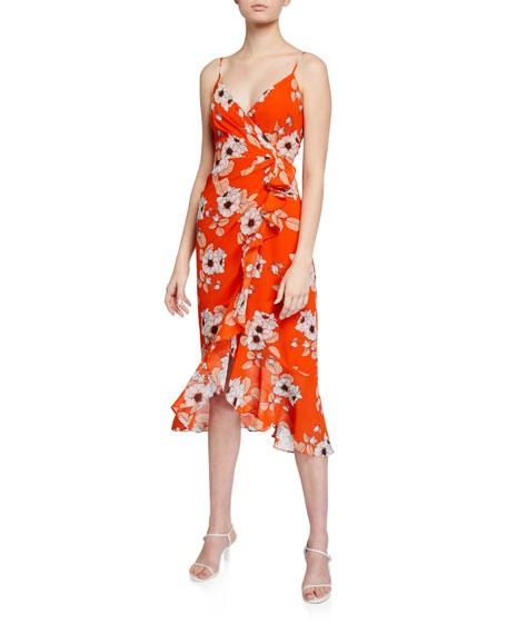 Bardot Loretta Ruffled Maxi Dress