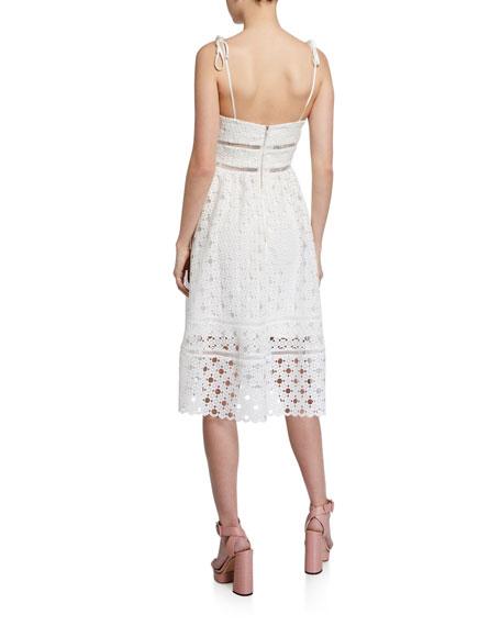 Bardot Louisiana Lace Midi Dress