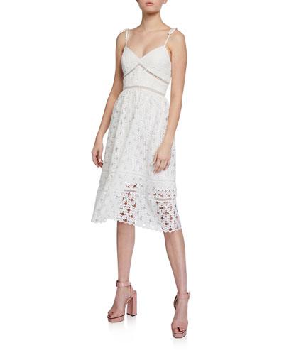 Louisiana Lace Midi Dress