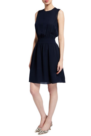 Theory Rib-Trim Dress