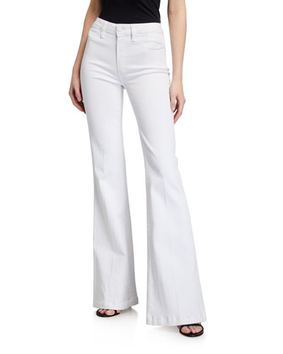Genevieve High-Rise Flare Jeans