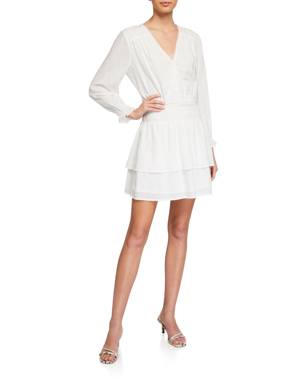 PAIGE Serrano Long-Sleeve Dress
