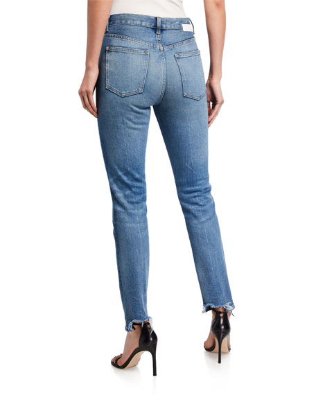 Image 2 of 3: CQY Icon Vintage Slim-Leg Jeans