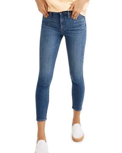 Curvy High-Rise Skinny Crop Jeans