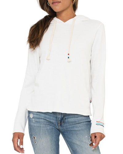 Sherpa Hooded Sweatshirt
