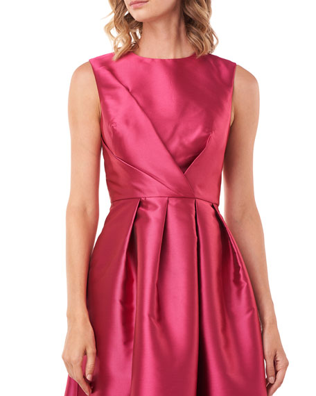 Kay Unger New York Josephine Sleeveless Taffeta Gown