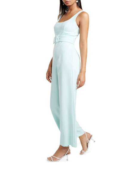 Image 2 of 4: Ever New Belted Tank Top Jumpsuit