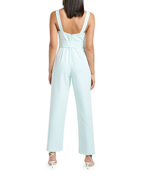 Image 3 of 4: Ever New Belted Tank Top Jumpsuit