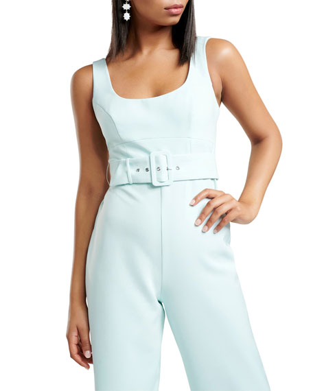 Image 4 of 4: Ever New Belted Tank Top Jumpsuit