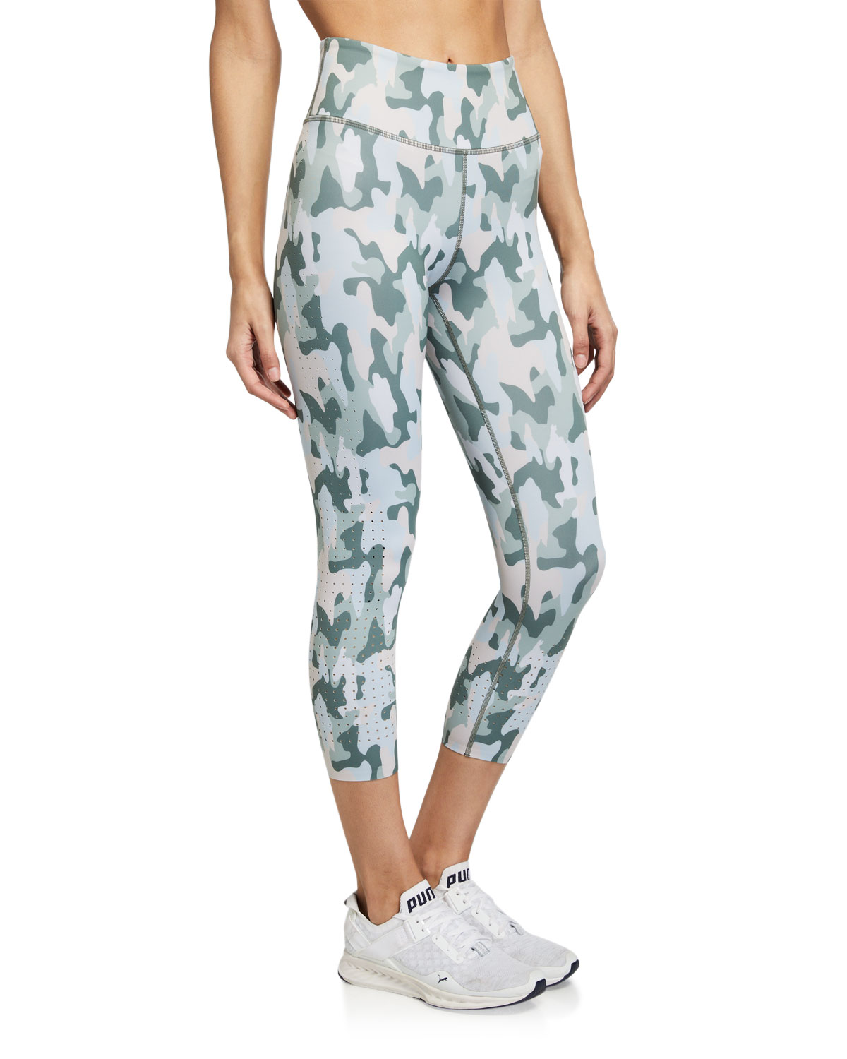 Aurum Freedom Camo Active Crop Leggings