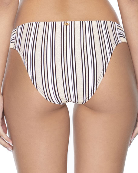 Image 2 of 2: PQ Swim Striped Hipster Bikini Bottom