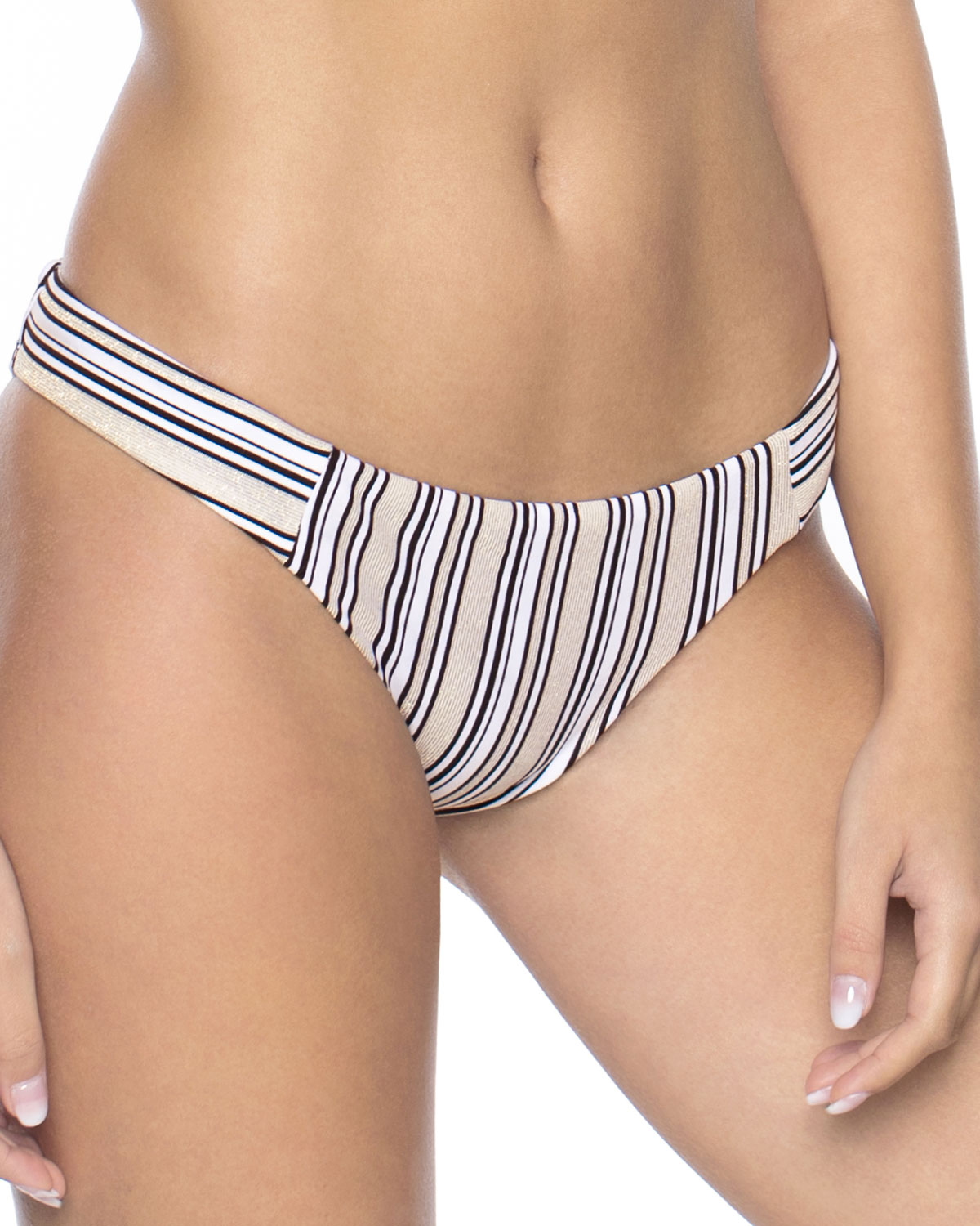 PQ Swim Striped Hipster Bikini Bottom