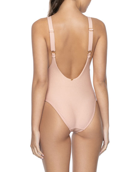 Image 2 of 2: PQ Swim Hailey One-Piece Swimsuit