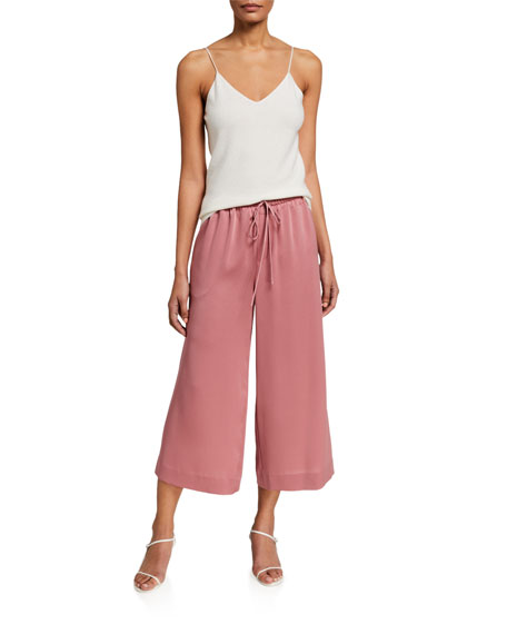 Image 3 of 3: Vince Pull-On Culotte Pants