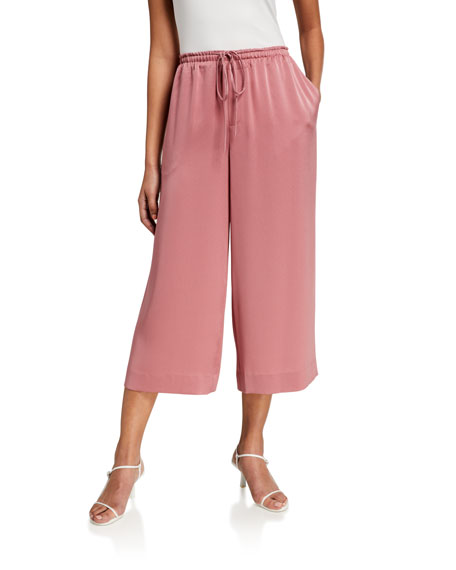 Image 1 of 3: Vince Pull-On Culotte Pants