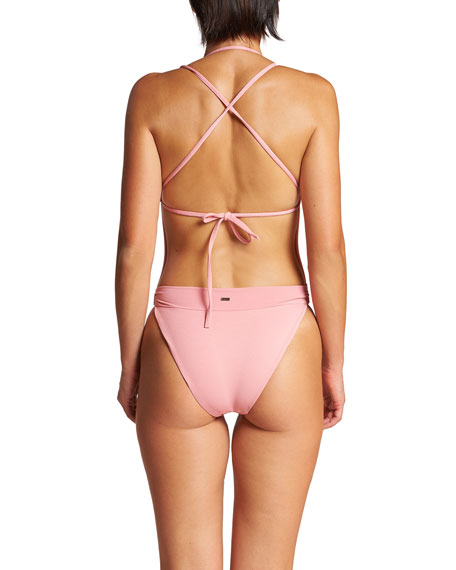 Image 3 of 3: LeSwim Diana One-Piece High-Leg Swimsuit
