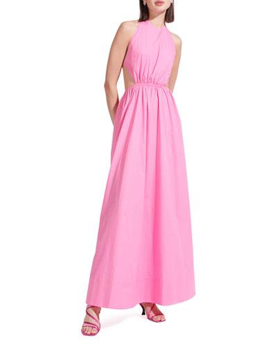 Apfel Open-Back Maxi Dress