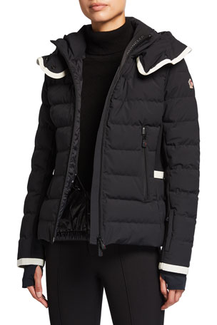 Moncler Grenoble Lamoura Fitted Down Ski Jacket