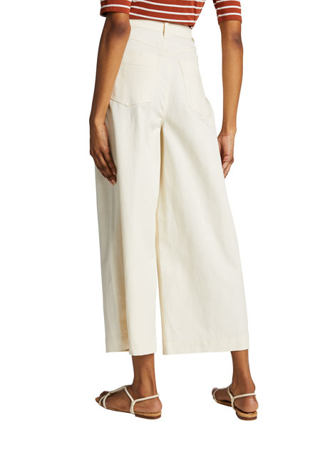 Image 2 of 5: Vince Wide-Leg Cropped Pants