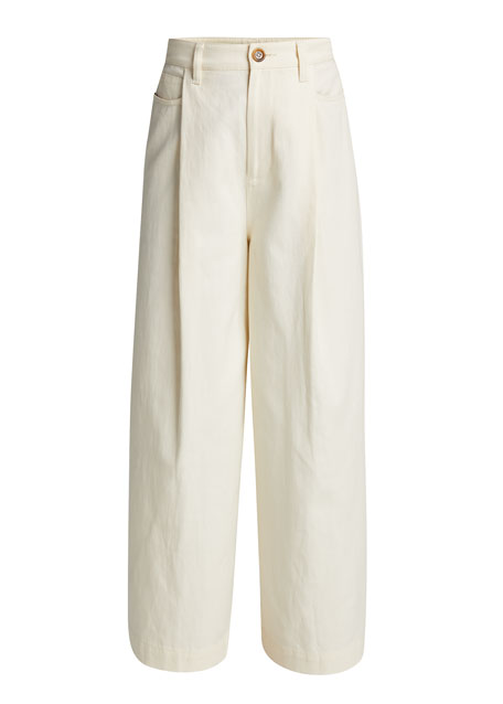 Image 5 of 5: Vince Wide-Leg Cropped Pants
