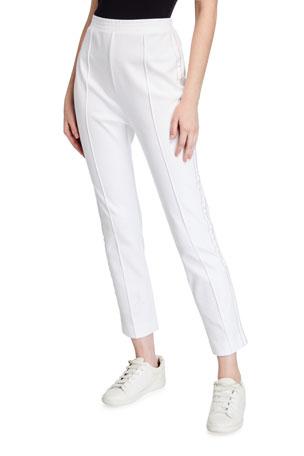 Joan Vass Petite Sparkle Pants