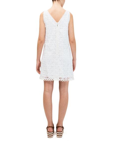 kate spade new york leaf lace shift dress