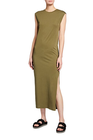 FRAME Le Muscle Sleeveless Maxi Dress
