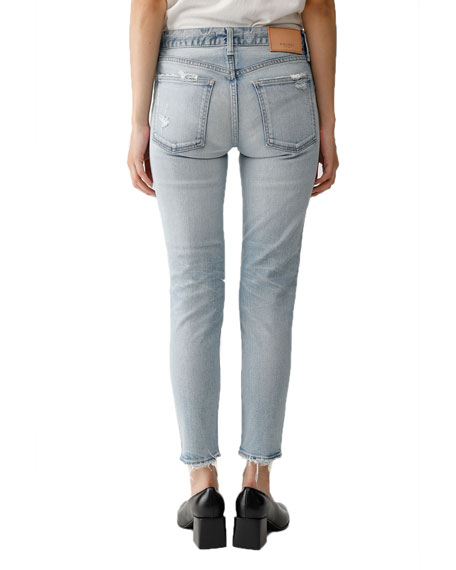 Image 2 of 2: MOUSSY VINTAGE Vivian Distressed Skinny Jeans