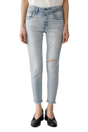 MOUSSY VINTAGE Vivian Distressed Skinny Jeans