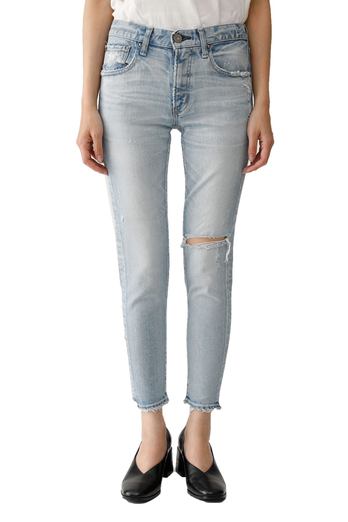 MOUSSY VINTAGE Vivian Distressed Skinny Jeans
