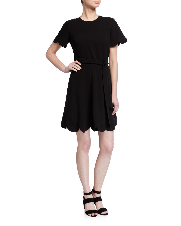 Shoshanna Jimena Stretch Crepe Dress