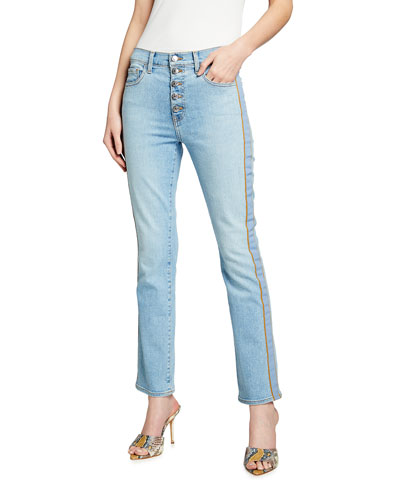 Carolyn High-Rise Baby Boot-Cut Jeans