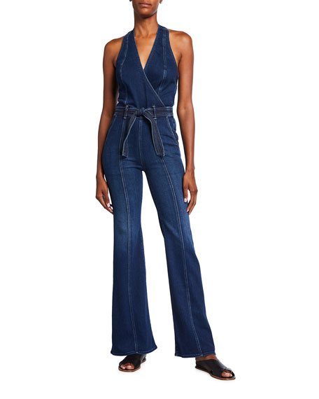 Image 1 of 2: MOTHER The Halter Doozy Jumpsuit