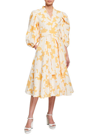 Stine Goya Belinda Flora Wrap Dress