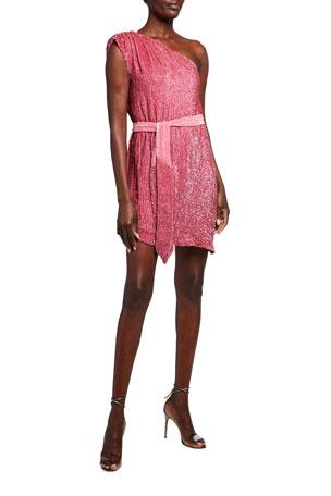Retrofete Ella One-Shoulder Dress