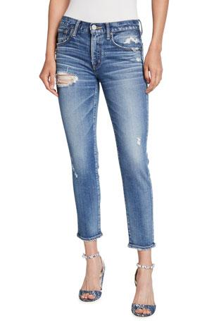 MOUSSY VINTAGE Comfort Lindsay Distressed Skinny Jeans
