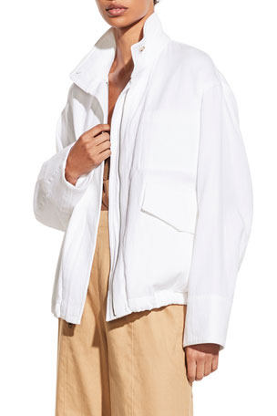 Vince Casual Military Jacket