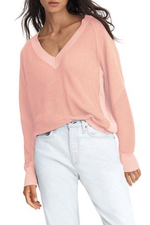 Rag & Bone Adaya V-Neck Sweater