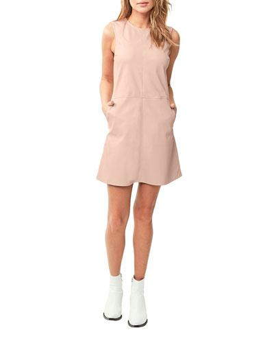 Glastonbury Vegan Leather Dress