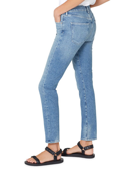 Image 3 of 3: Citizens of Humanity Skyla Mid Rise Cigarette Jeans