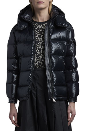 Moncler Maire Shiny Puffer Jacket