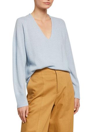 Vince Marled V-Neck Sweater