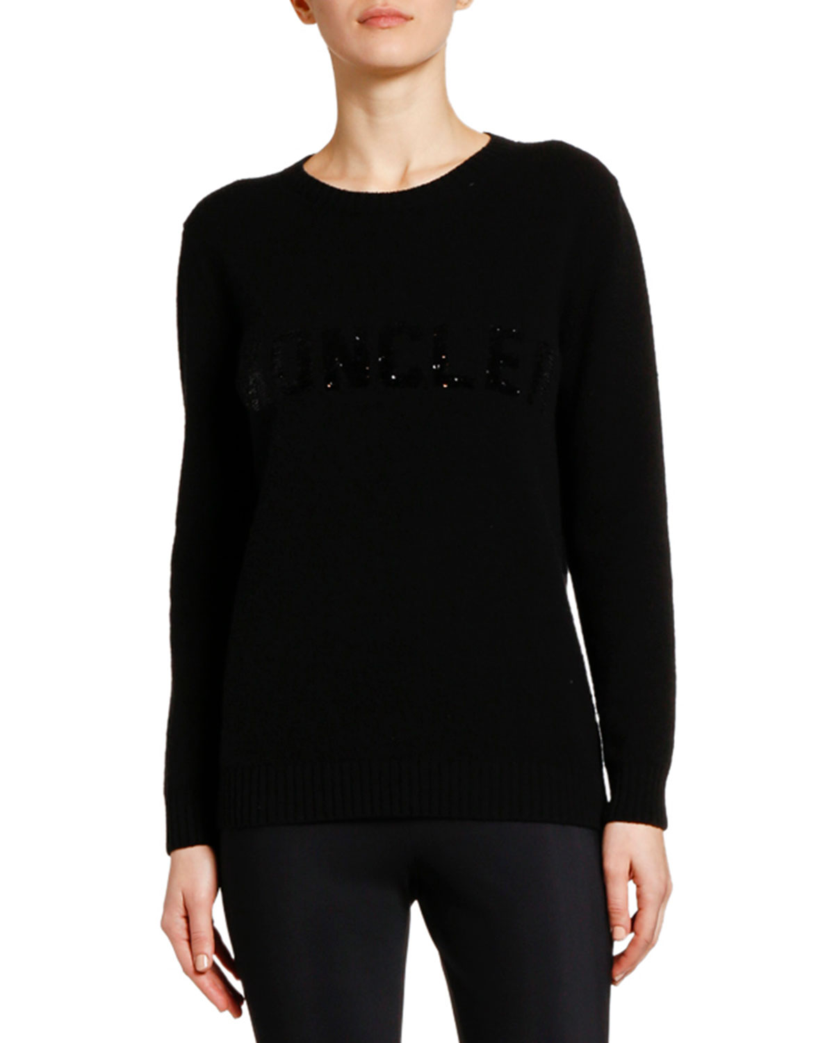 Moncler Wool-Cashmere Sweater