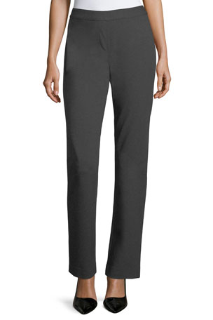 Lafayette 148 New York Punto Milano Straight-Leg Pants