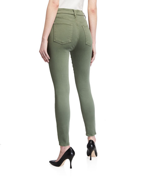 Image 2 of 3: 7 for all mankind High-Rise Skinny Ankle Jeans