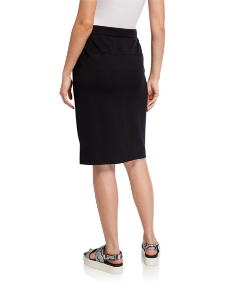 Image 2 of 3: Eileen Fisher Flex Ponte Pencil Skirt