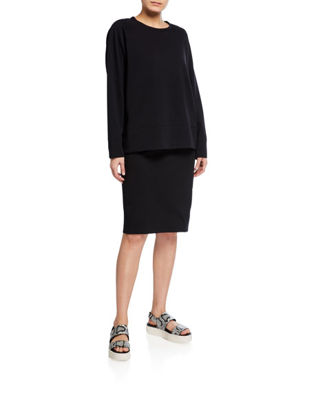 Image 3 of 3: Eileen Fisher Flex Ponte Pencil Skirt