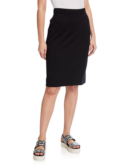 Image 1 of 3: Eileen Fisher Flex Ponte Pencil Skirt