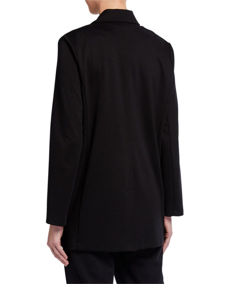 Image 2 of 3: Eileen Fisher Plus Size Flex Lyocell Ponte Jacket