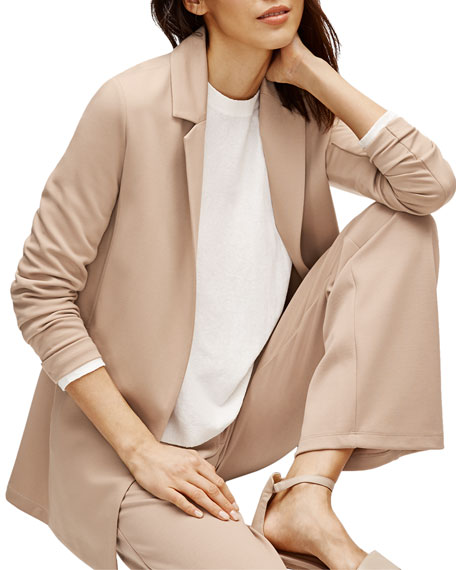 Image 3 of 3: Eileen Fisher Plus Size Flex Lyocell Ponte Jacket